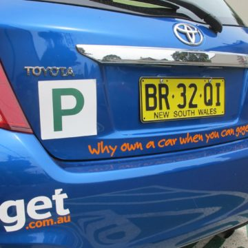 Young drivers get going with GoGet | P Plate Car Rental feature image