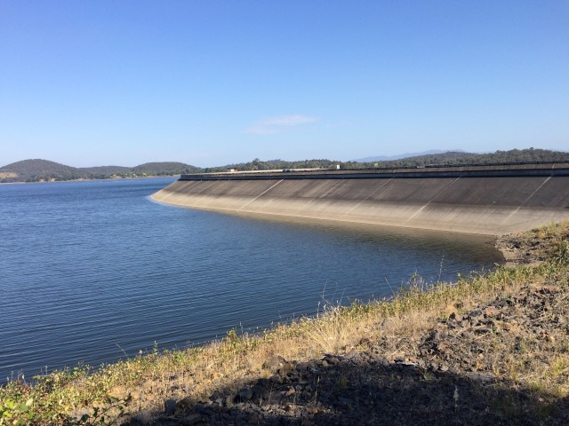 Sugarloaf Reservoir near the Yarra Valley in Victoria, not far from Melbourne