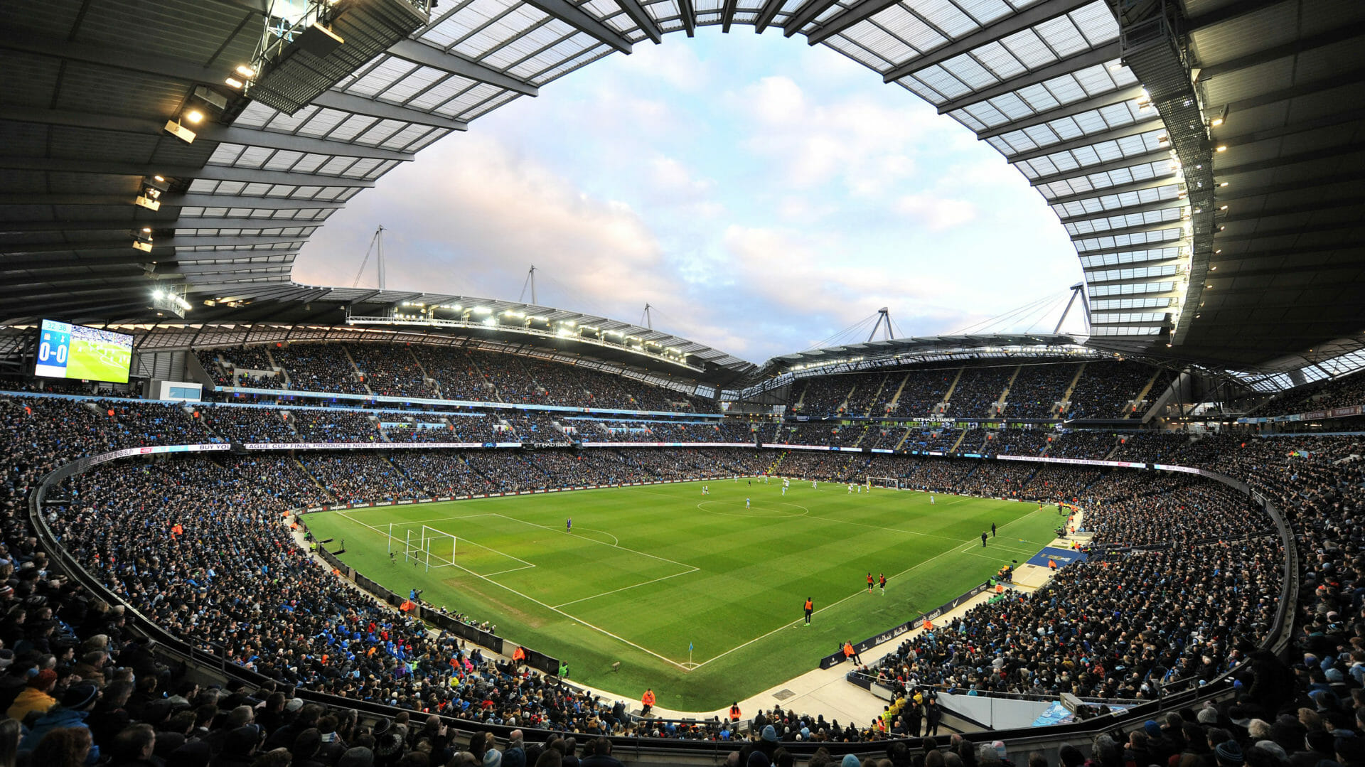 An interior view of Etihad stadium in Docklands - Where to park in Docklands