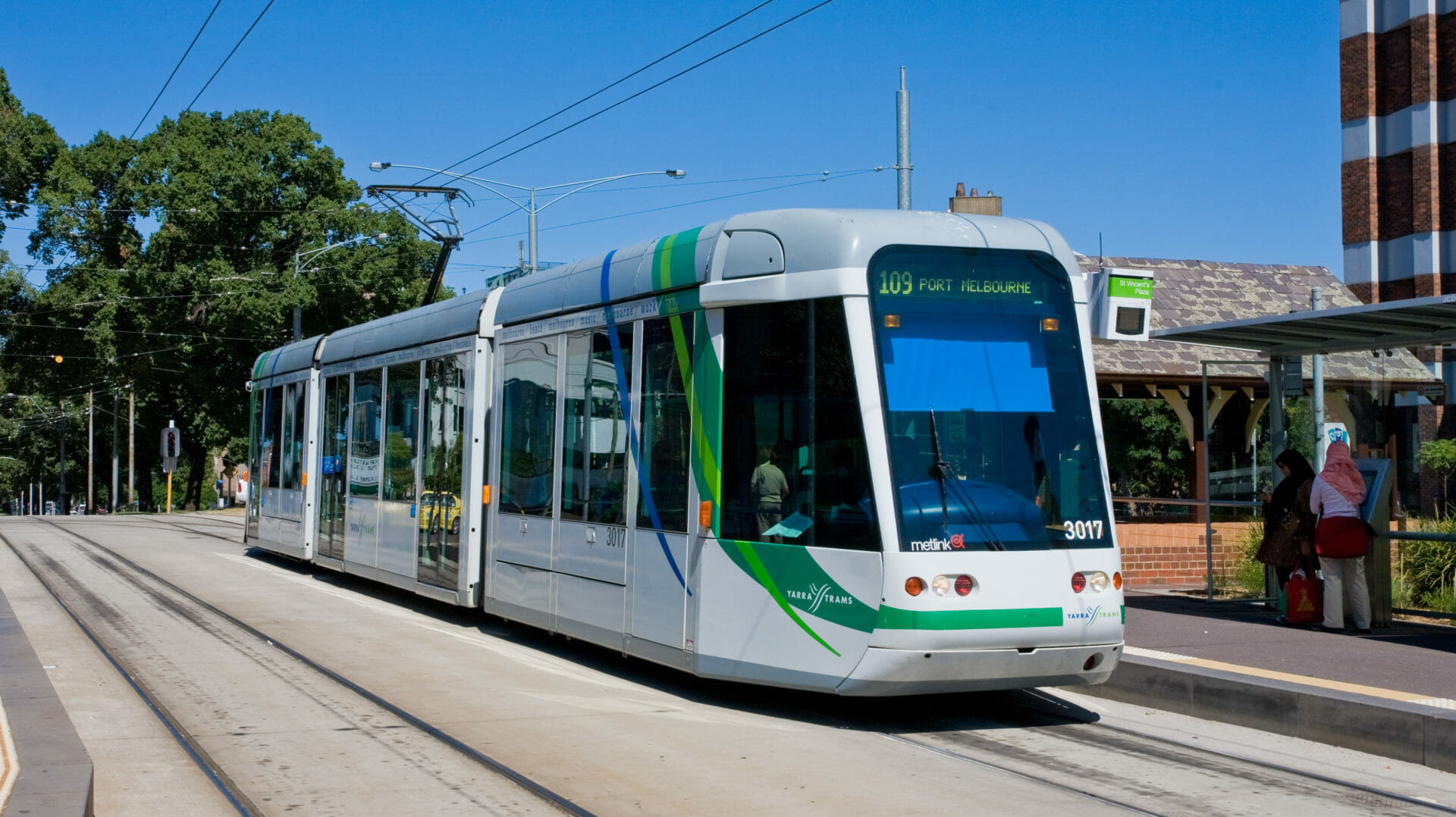 Melbourne's 109 tram, which residents use to avoid finding where to park in Richmond