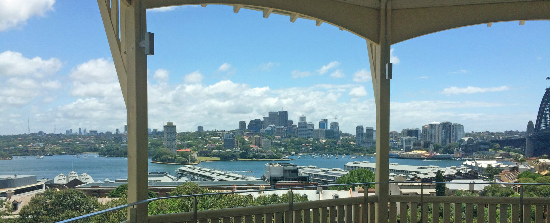 A view of Sydney from Observatory Hill. Moving to Sydney is expensive if you want views like this