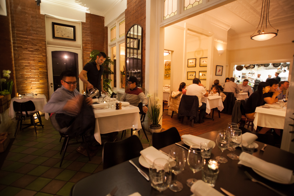 The interior of Fitzrovia cafe and restaurant in St Kilda, one of the best cafes in Melbourne for GoGet members