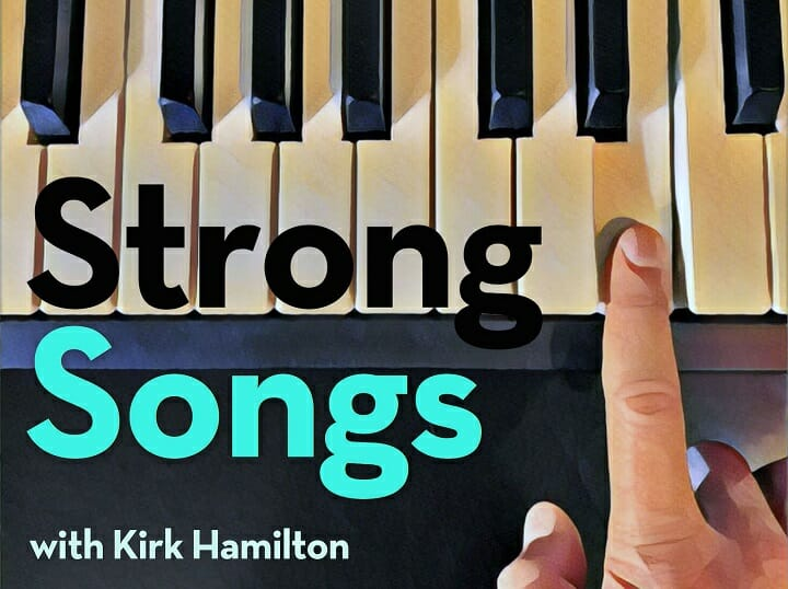 The artwork for Strong Songs with Kirk Hamilton, one of the best music podcast for road trips