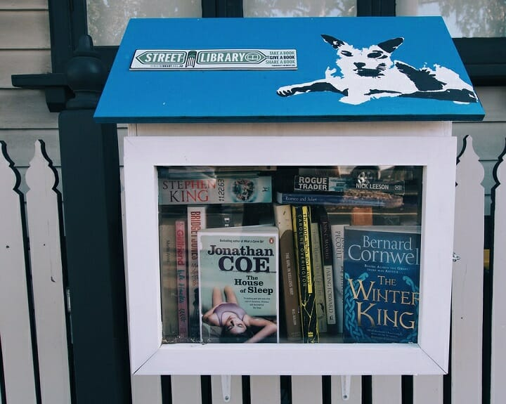 Street Libraries are a great example of Access vs Ownership in Australia today