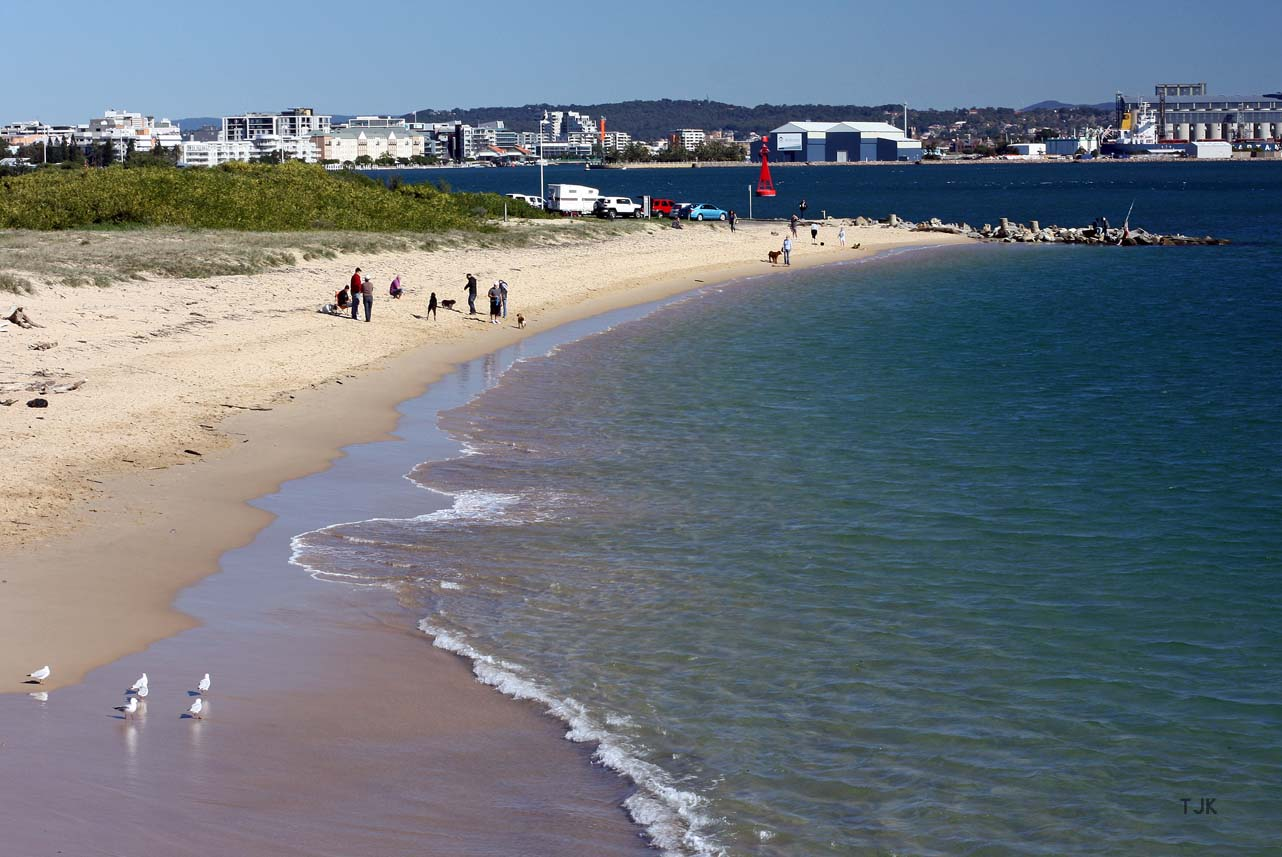 best beaches in newcastle