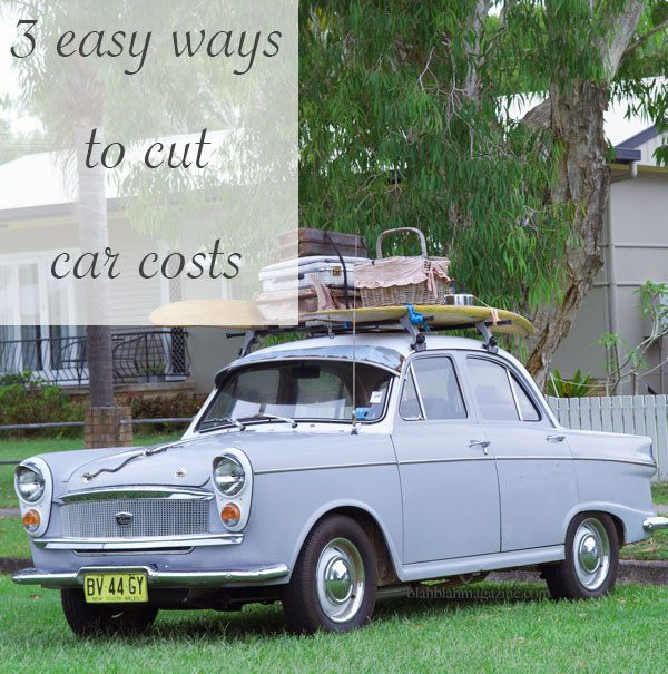 3 ways to reducing car cost