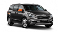 GoGet Kia Carnival - people movers for rent by the hour or the day