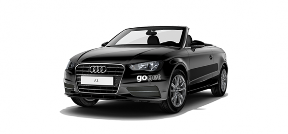 GoGet Convertible in Black