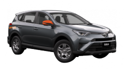 GoGet Rav4 - available for rental by the hour