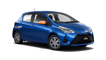 GoGet Blue Yaris