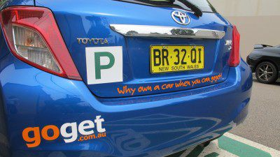 Young drivers get going with GoGet